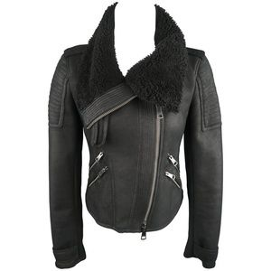 Burberry Brit Authentic cropped Shearling Jacket 6